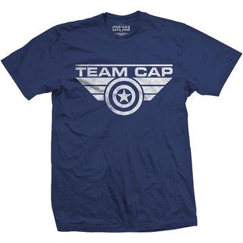 Captain America - Team Cap Logo Majica