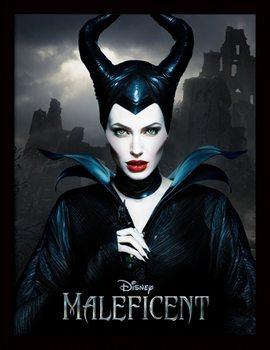 Maleficent - Dark Tablou Înrămat cu Geam