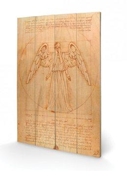 Målning på trä Doctor Who - Weeping Angel