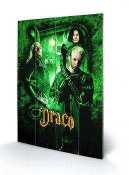 Tavla i trä Harry Potter - Draco