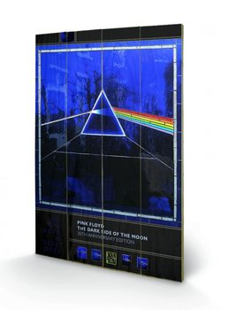 Målning på trä Pink Floyd - Dark Side of the Moon- 30th Anniversary