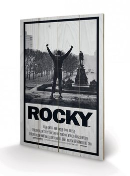 Tavla i trä Rocky - Rocky I