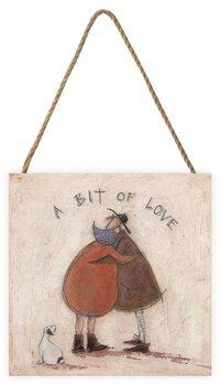 Tavla i trä Sam Toft - A Bit of Love