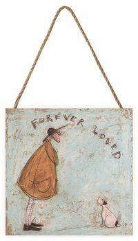 Tavla i trä Sam Toft - Forever Loved
