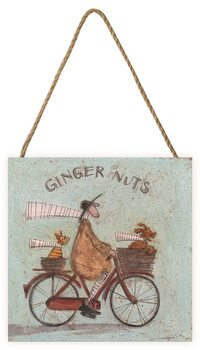 Tavla i trä Sam Toft - Ginger Nuts