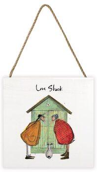Tavla i trä Sam Toft - Love Shack