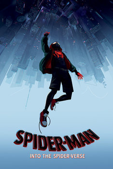 Spider-Man: Into The Spider-Verse – Fall Inramad poster