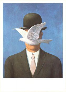 Man in a Bowler Hat, 1964 Festmény reprodukció