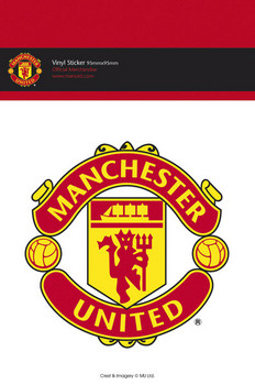 MAN UNITED CLUB CREST Autocolant