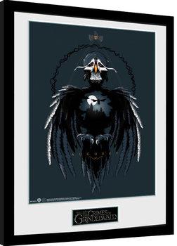 Animales fantásticos: Los crímenes de Grindelwald - Augurey Poster enmarcado