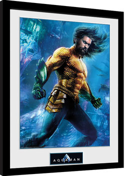 Aquaman - Arthur Curry Poster enmarcado