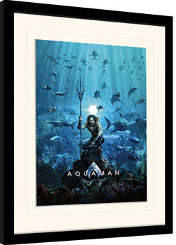 Poster enmarcado Aquaman - Teaser