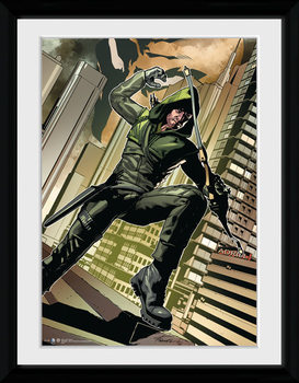 Arrow - Cover Green marco de plástico