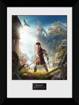 Assassins Creed Odyssey - Key Art Poster enmarcado