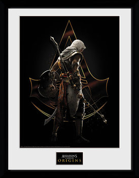 Assassins Creed: Origins - Assassin Poster enmarcado