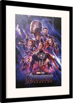 Poster enmarcado Avengers: Endgame - One Sheet