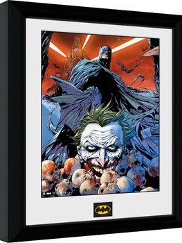 Batman Comic - Joker Defeated Poster enmarcado