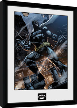 Batman Comic - Rope Poster enmarcado