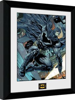Batman Comic - Swing Poster enmarcado