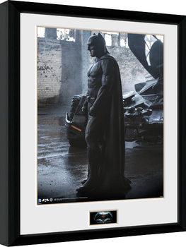 Batman Vs Superman - Batman Poster enmarcado