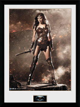 Batman Vs Superman - Wonder Woman Poster enmarcado