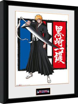Bleach - Ichigo Poster enmarcado