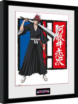 Bleach - Renji Poster enmarcado