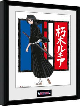 Bleach - Rukia Poster enmarcado