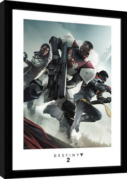 Destiny 2 - Key Art Poster enmarcado