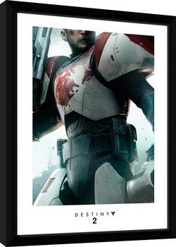 Destiny 2 - Titan Poster enmarcado