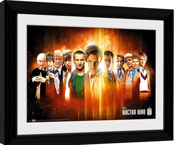 Poster enmarcado Doctor Who - Regenerate
