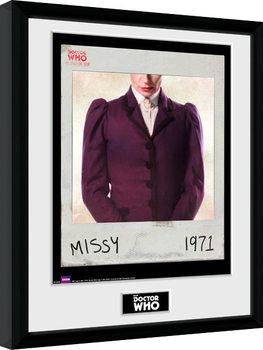 Doctor Who - Spacetime Tour Missy Poster enmarcado