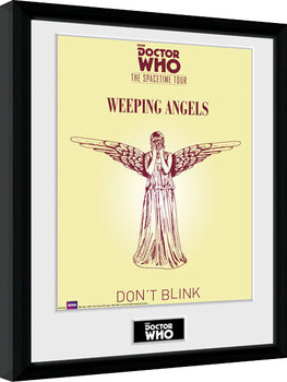 Doctor Who - Spacetime Tour Weeping Angels Poster enmarcado