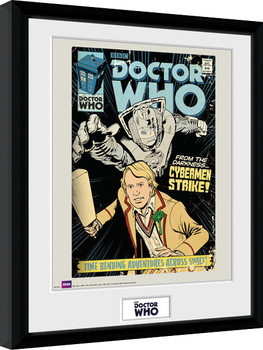 Doctor Who - Strike Poster enmarcado