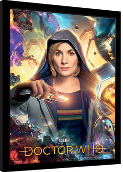 Doctor Who - Universe Is Calling Poster enmarcado