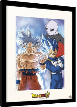 Poster enmarcado Dragon Ball - Super Jiren