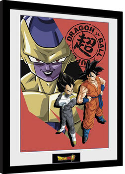Poster enmarcado Dragon Ball Super - Resurrection Group