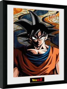 Poster enmarcado Dragon Ball Z - Goku