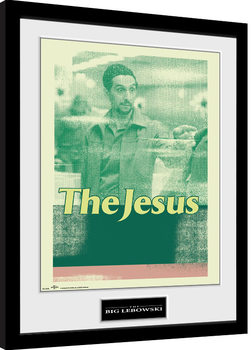 El gran Lebowski - The Jesus Poster enmarcado