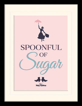 El regreso de Mary Poppins - Spoonful of Sugar Poster enmarcado