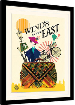 El regreso de Mary Poppins - Wind in the East Poster enmarcado