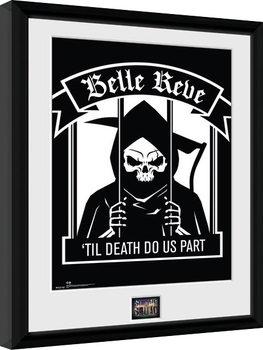 Escuadrón Suicida - Suicide Squad - Belle Reve Poster enmarcado