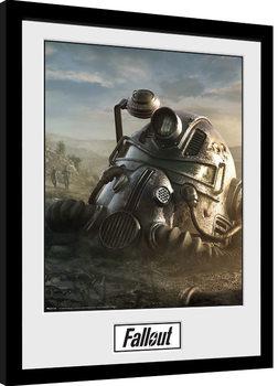 Poster enmarcado Fallout 76 - Mask