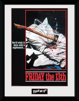 Friday The 13th - Nightmare Poster enmarcado