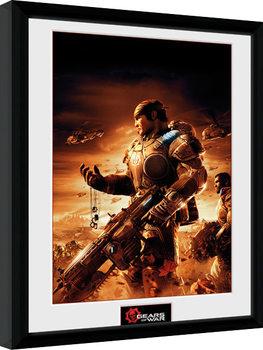 Gears of War - Gears 2 Poster enmarcado