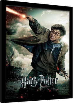Poster enmarcado Harry Potter: Deathly Hallows Part 2 - Wand