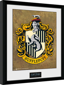 Harry Potter - Hufflepuff Poster enmarcado