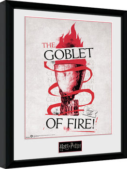 Harry Potter - Triwizard Goblet of Fire Poster enmarcado