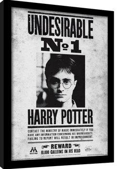 Harry Potter - Undesirable No1 Poster enmarcado