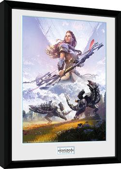 Horizon Zero Dawn - Complete Edition Poster enmarcado